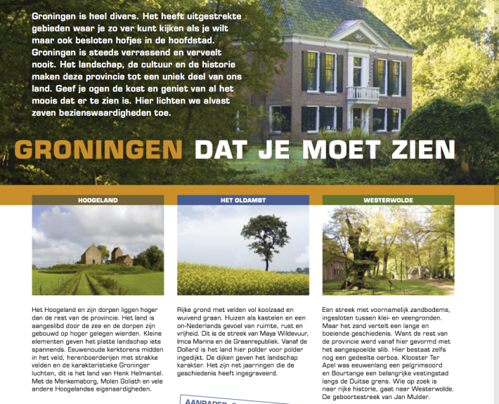 Magazine Marketing Groningen