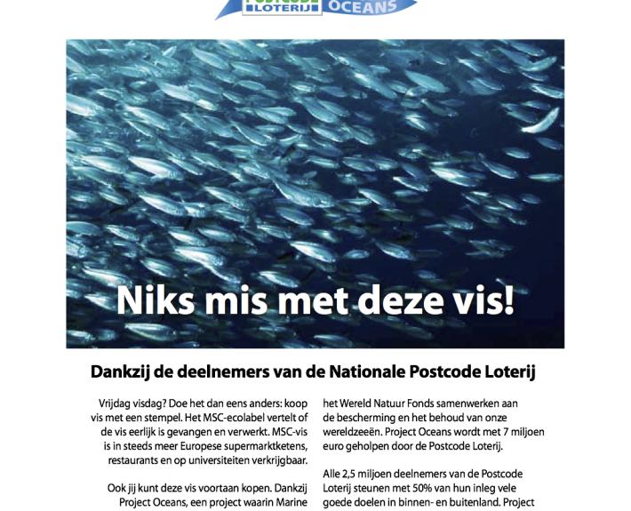 Teksten advertentie NPL-PO