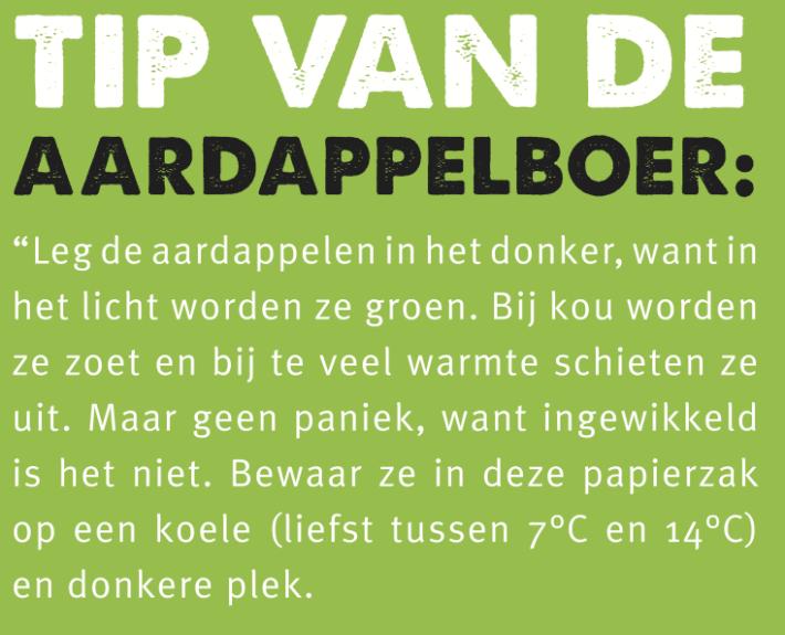 Tekstgedeelte poster tips